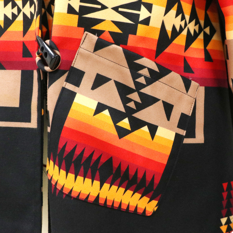 Осенняя Новая женская тонкая куртка с воротником-стойкой и принтом, женское повседневное пальто большого размера в ацтекском стиле