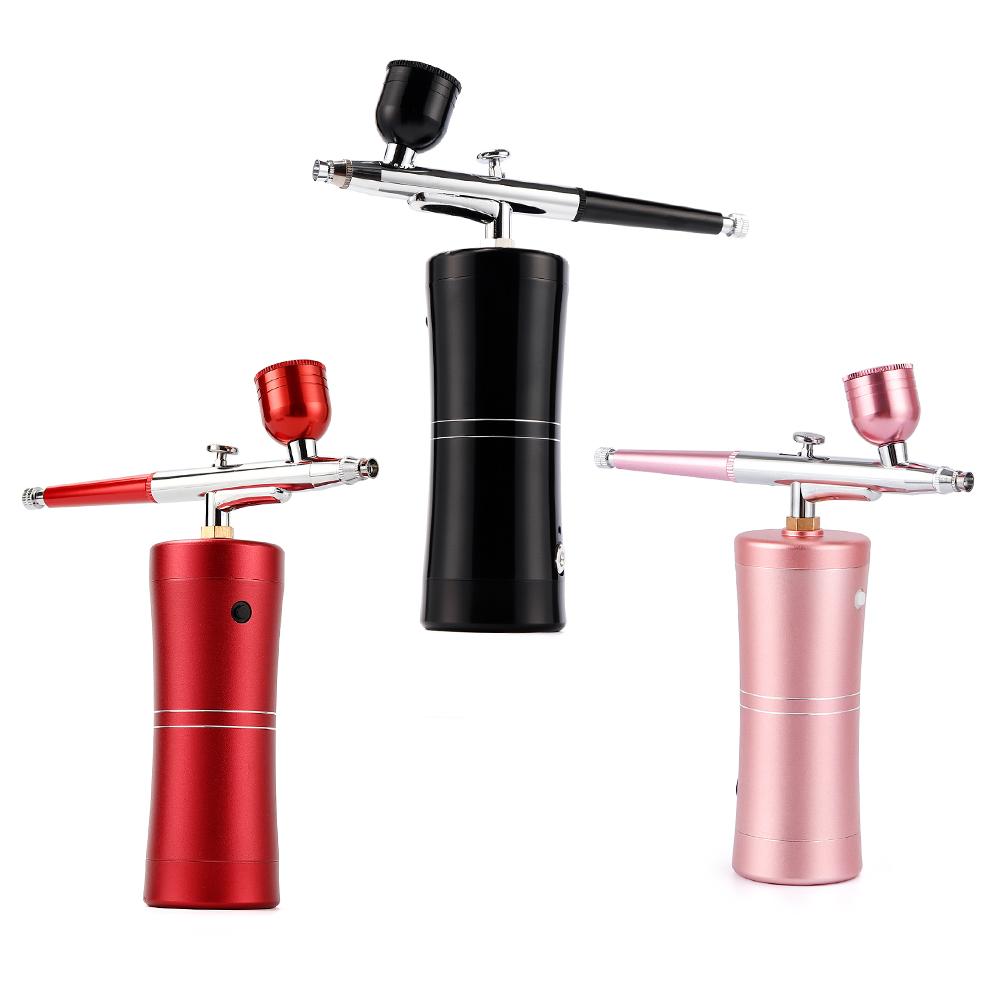 portable USB Chargable nail art tool tattoos art tool airbrush gun Spray gun