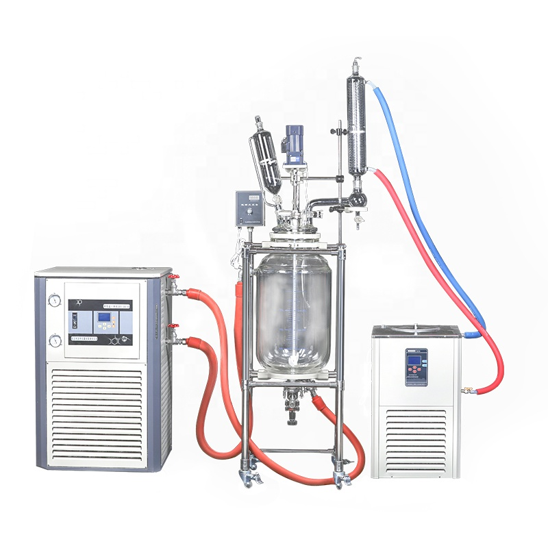 Linbel -80~200 Degree Heating Refrigeration Circulator For 100L Glass Reactor