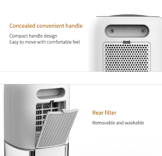 2019 New Portable mini home Dehumidifiers machine