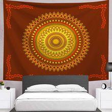 Индийская богемная МАНДАЛА ГОБЕЛЕН настенный пляжный плед одеяло постельное покрывало для спальни коврик для йоги матрас Мандала гобелены(Китай)