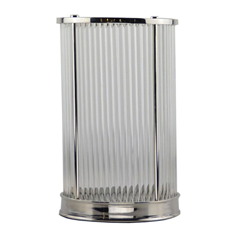 Современные роскошные латунные подсвечники с никелевой отделкой, стеклянный подсвечник для украшения дома