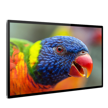 High quality 65 inch LCD advertising machine wall mount media player LED TV for shopping mall