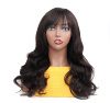 body wave with bangs