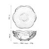 Transparent Dessert bowl 5