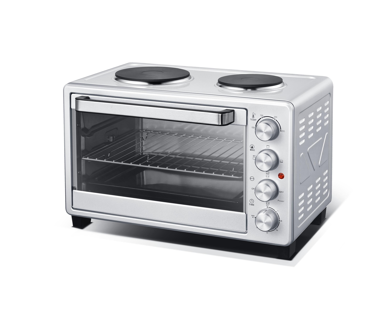 Электрические духовки Posida 42L с горячими пластинами