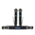 RC-U8030 2018 New professional wireless recharge battery portable UHF Wireless Microphone