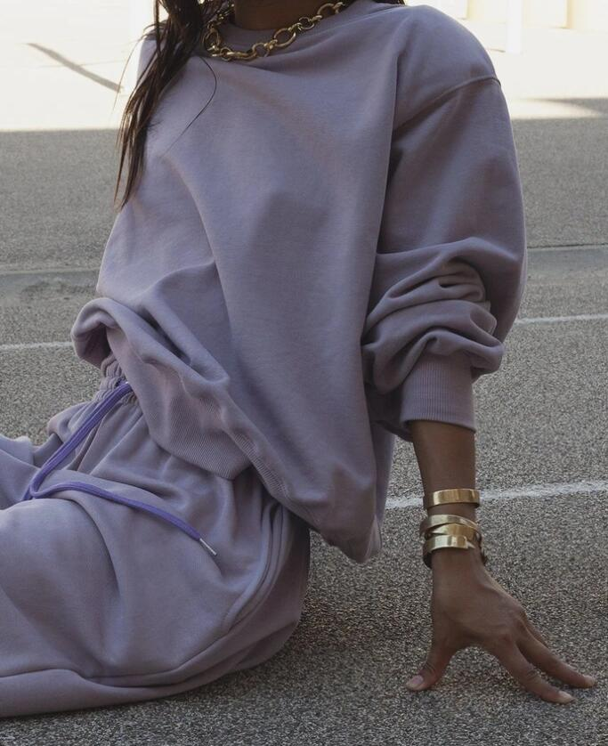 Runwaylover  CUSTOMSIZE French terry fleece  Relaxed fit jumper and pants