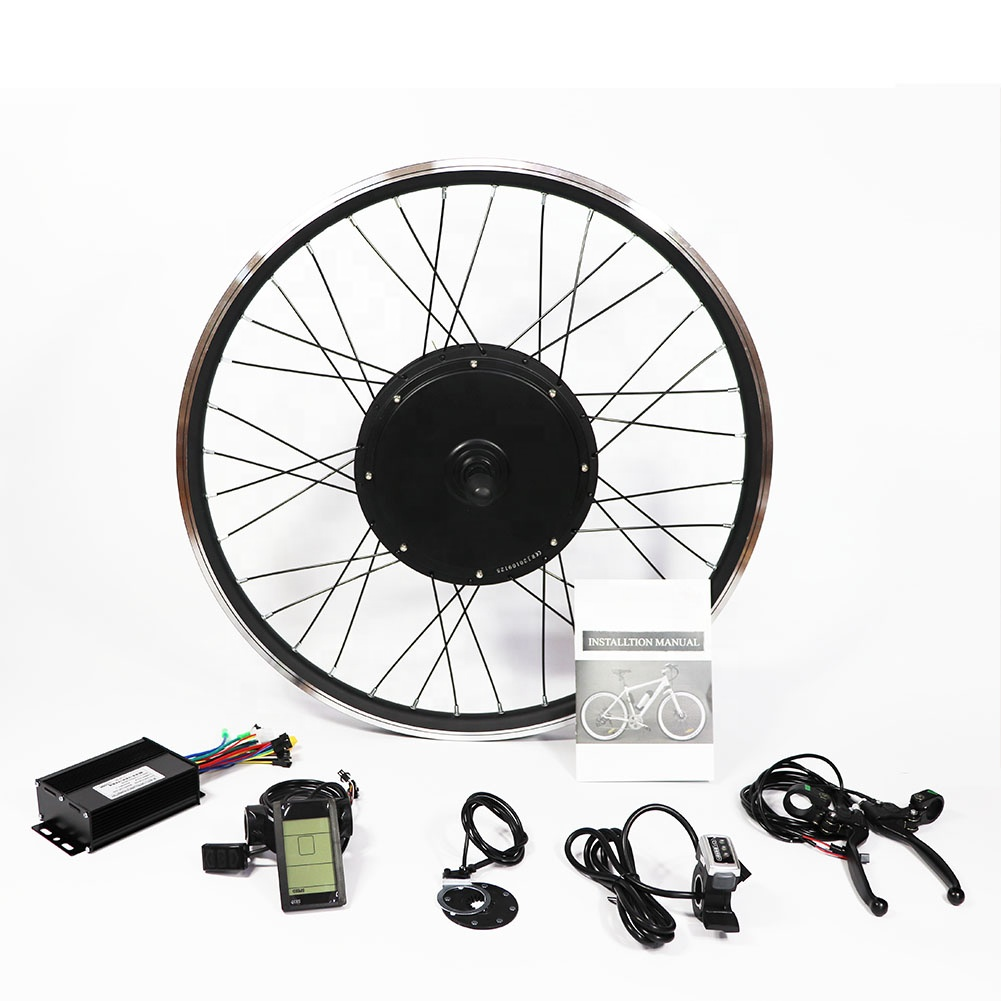 1000w electric bike conversion kit&diy electric bicycle kit with battery