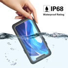 Phone Case Iphone New Developed Full Body Protective IP68 Shockproof Phone Case Built-in Screen Protector Waterproof Case For IPhone 12 5.4''