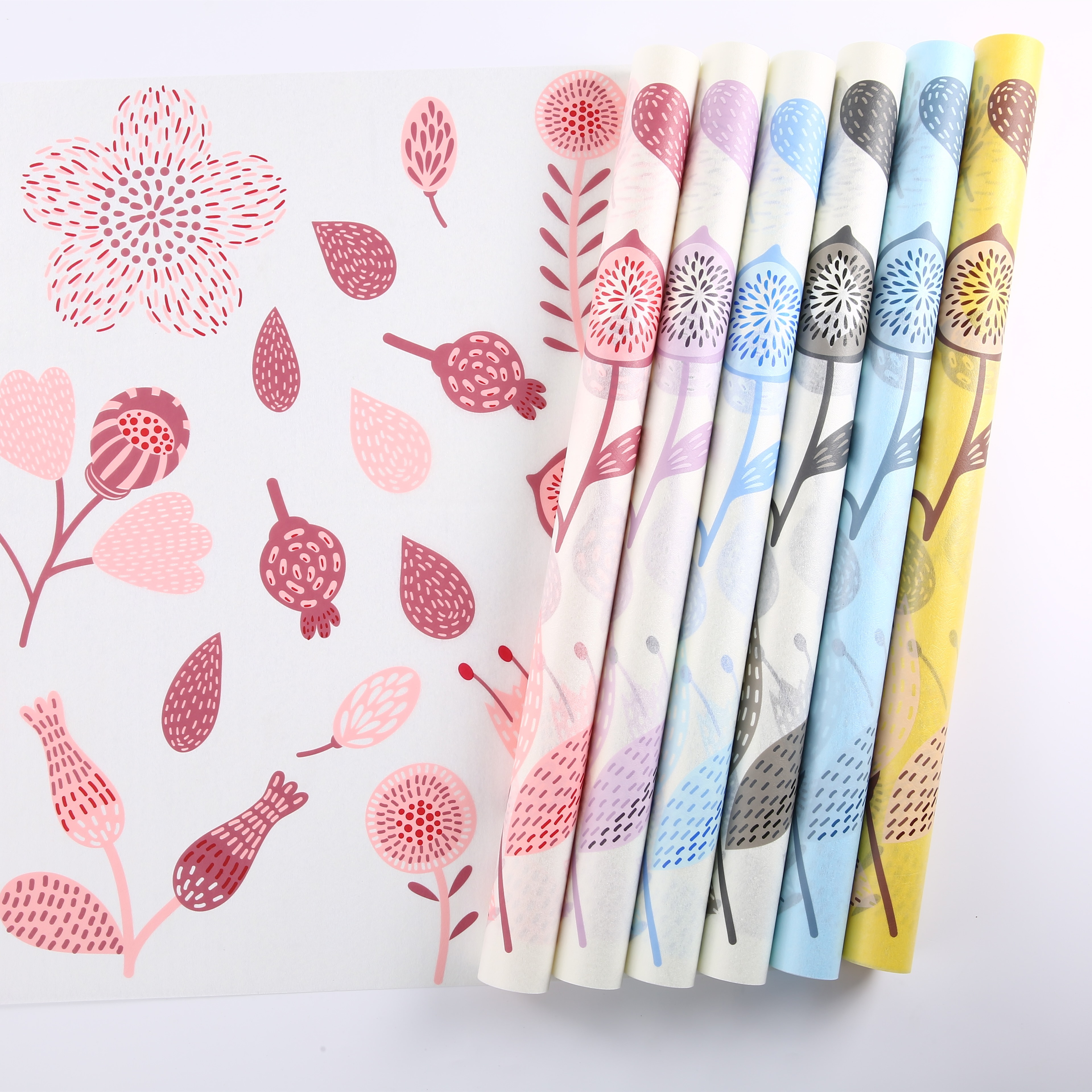 Wholesale Flower Wrapping Paper Custom Printed Wrapping Paper Roll,Gift Wrapping  Paper - Buy Gift Wrapping Paper,Flower Wrapping Paper,Fancy Gift Wrapping  Paper Product on Alibaba.com