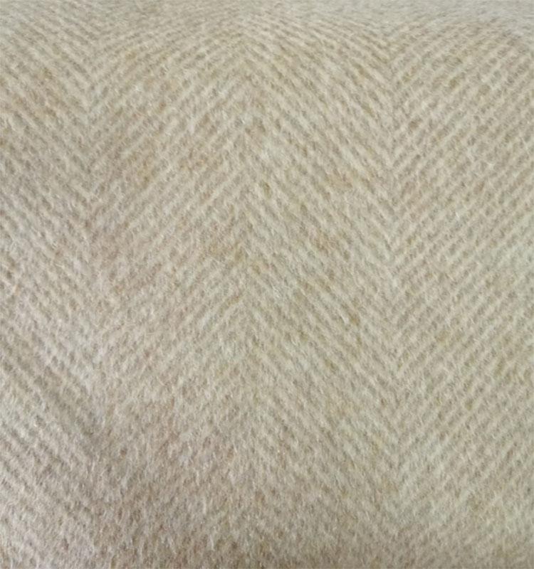 Модная Высококачественная Двусторонняя шерстяная ткань alpaca в елочку по хорошей цене оптом