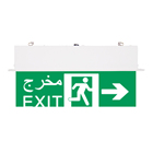 Cd Fire Exit Sign Guta Fire Good Quality Rechargeable LED Exit Sign TUV Certificate NI CD Battery Exit LED Sign