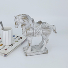 Table Decoration Decoration Resin Horse Table Decoration White Resin Sculpture Resin Table Top