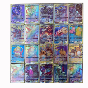 For Pokemon TCG 200 Card Lot 78 TAG TEAM + 122 GX Cards 2019 NOV NEW RELEASE