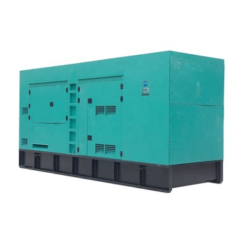SHX standby power generator 625kva diesel generating set 500kw soundproof genset