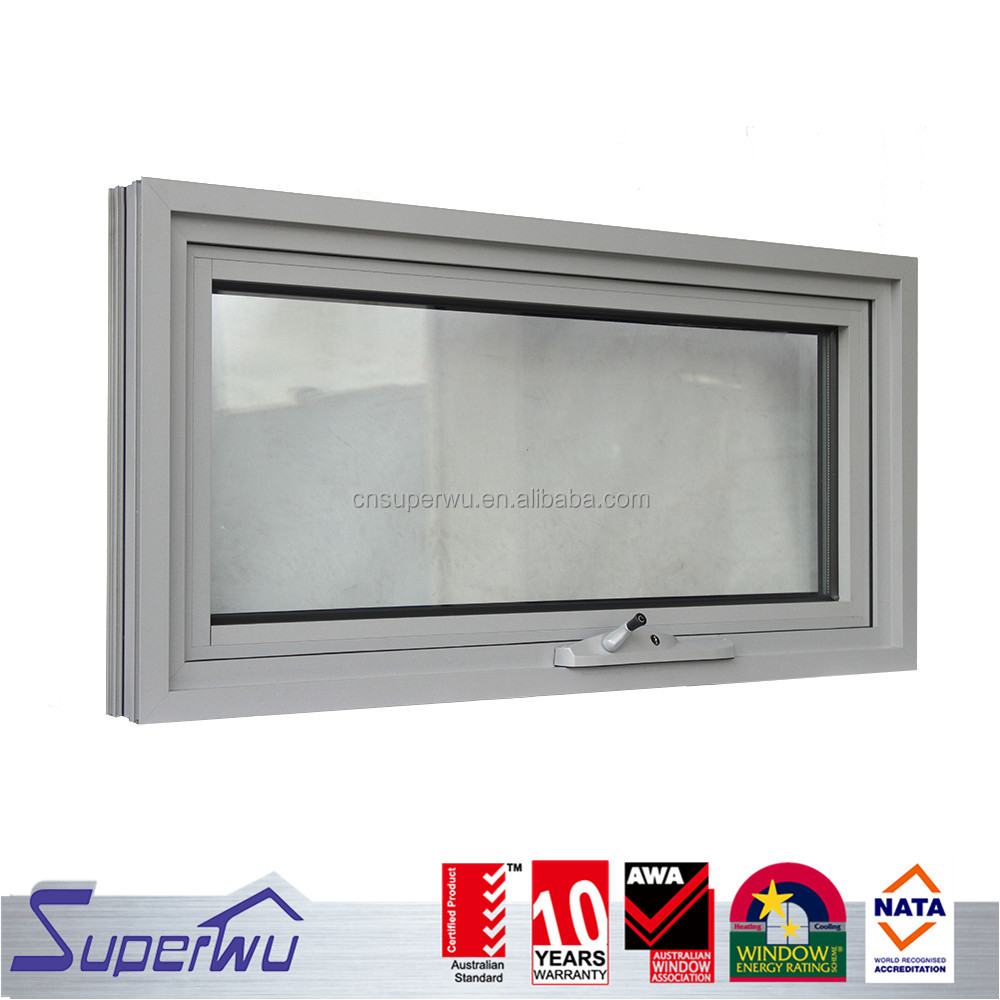 Aluminium thermal break Profile cost-effective Awning Windows AS2047