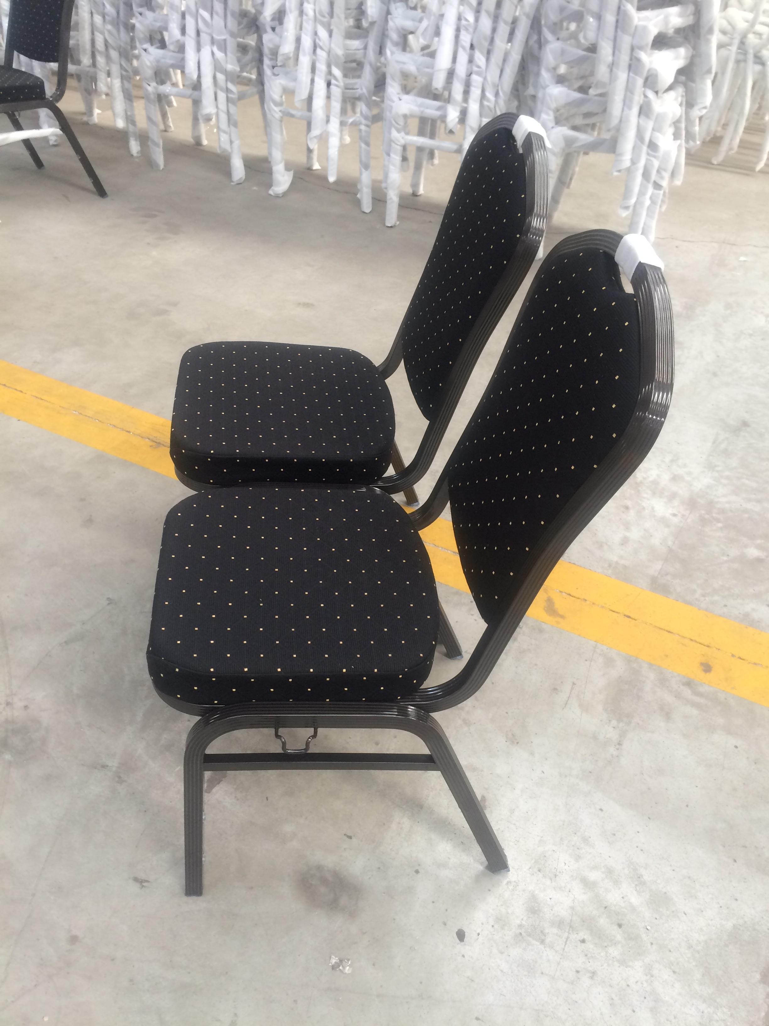 hotel aluminum stackable banquet chair