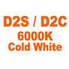 D2S D2C 6000K