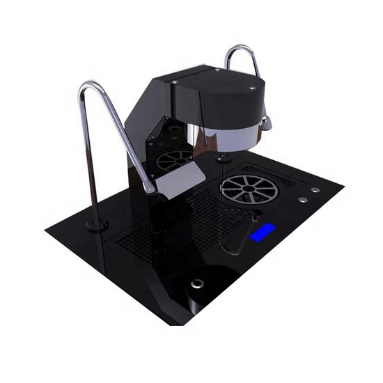 commercial rotary pump expresso coffee machine commercial with LCD screen