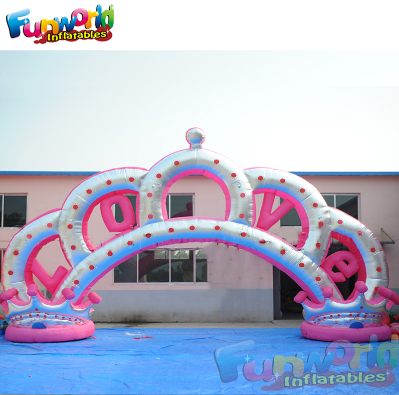 2019 Manufacture inflatable arch sale for marriage use