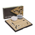 Modern Chess Handmade Chess Set Manufacturer Modern Design Handmade Different Theme Of Weiqi Chess Table Games Set For Sale