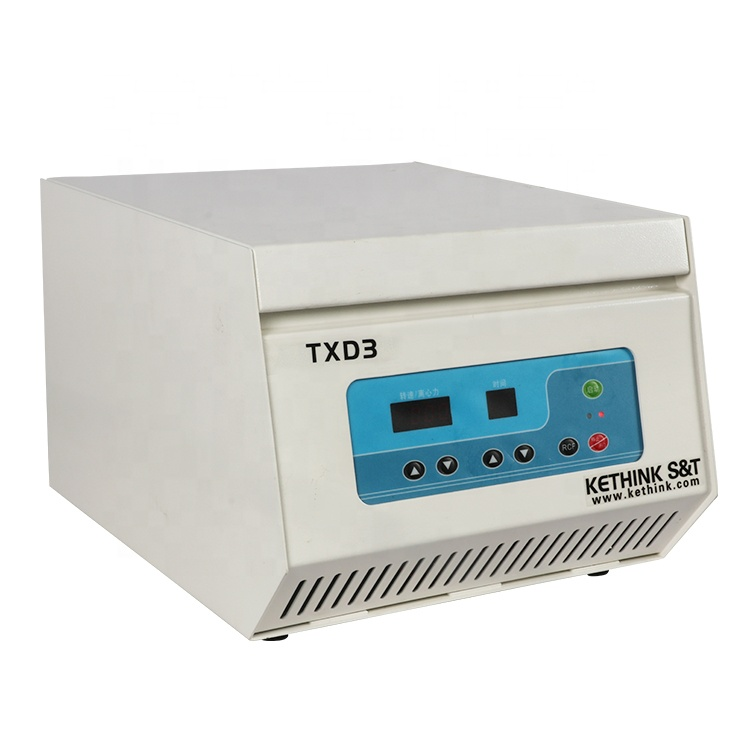 TXD3 220V 3000rpm compact low speed cytocentrifuge cell smear centrifuge in blood bank