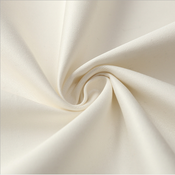 TC CVC COTTON 20*16 1 3/1 twill workwear UNIFROM textile with carbon peach