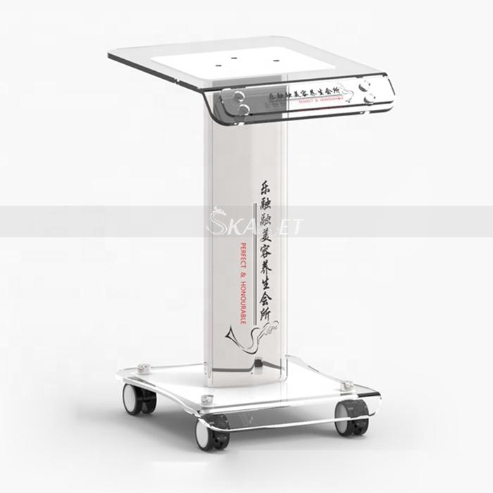 Newest trolley price 4-wheel mobile portable beauty salon trolley medical trolley cart