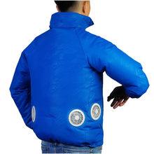 Летние охлаждающие куртки для мужчин и женщин, прохладное пальто, уличная Солнцезащитная куртка с USB зарядкой, верхняя одежда Z0618(China)