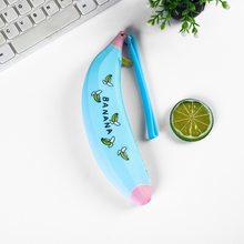 Чехол для карандашей для моделирования фруктов и овощей, силиконовая сумка для студенток, простая креативная сумка Kawaii, милая коробка для х...(Китай)
