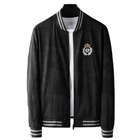 2021 new hot Men Baseball Jacket bee badge Stand Neck Full High Grade Mens Jackets and Coats Casual M-4XL SIZE black