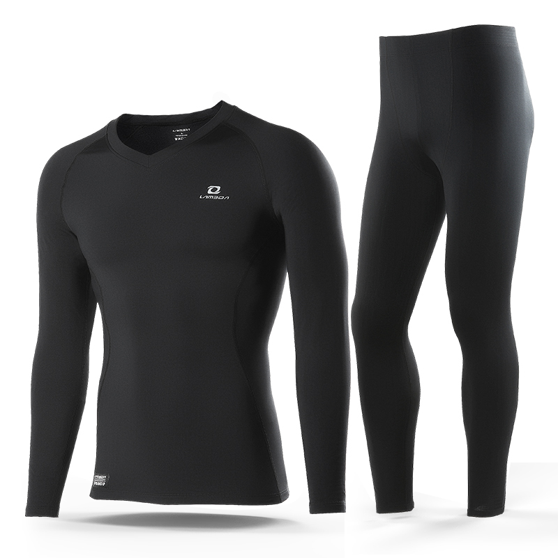 Wholesale Winter Outdoor Sports Cycling Seamless Set Long Johns Thermal Underwear For Men