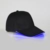 Black Cap with Blue Lights