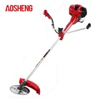 AOSHENG Low noise 4 stroke petrol grass trimmer whipper snipper 50.9cc garden tools brushcutter
