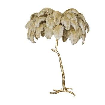 Прямая поставка с завода, недорогая лампа для свадьбы и вечеринки из страусиных перьев, 50-55 см