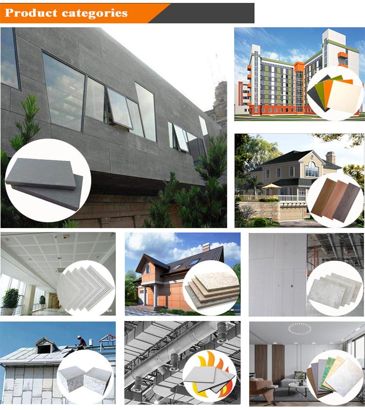 바닥 용 셀룰로오스 섬유 시멘트 보드