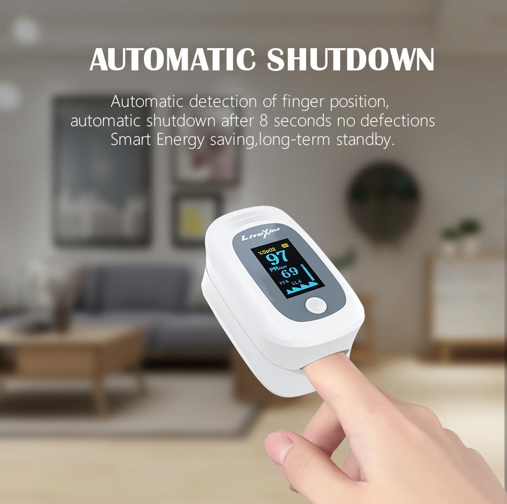 Finger Pulse Monitor Oximeter TFT Family Blood Oxygen Spo2 PR fingertip Portable Oximeters Saturation Meter Heart rate monitor