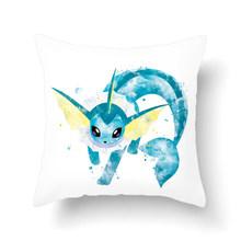 Классическая игра, декоративная наволочка с принтом покемона, плюшевый чехол для подушки, домашний декор для стула, дивана, наволочки(Китай)