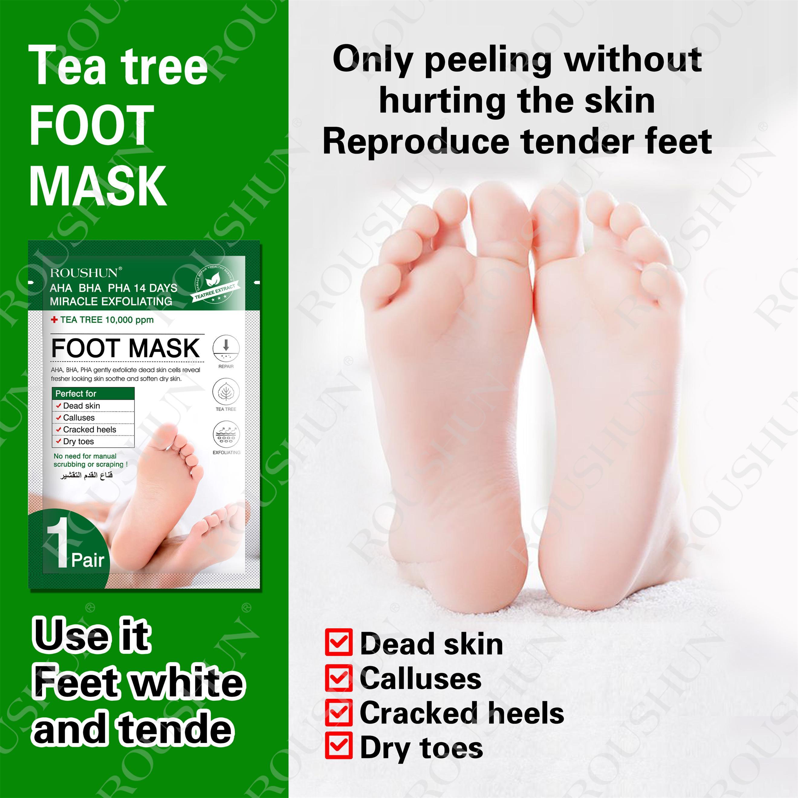 TEA TREE FOOT MASK
