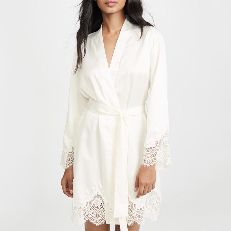 Лидер продаж, OEM дизайнерский высококачественный Шелковый роскошный атласный повседневный комплект, женская одежда для сна