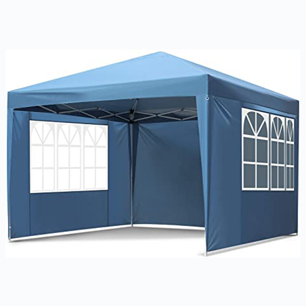 hot selling high quality POP UP gazebo 3x3m with 4 side walls heavy duty mesh gazebo pop up with sand bag and wind bar
