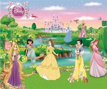 Пользовательские 3D обои росписи детская комната принцесса девушка спальня фон декоративные росписи(Китай)