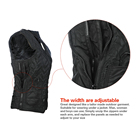 Vest SUNMAS Washable Material Electric Heated Vest Rechargeable Battery Pack Or Power Bank Powered Men Or Women Use