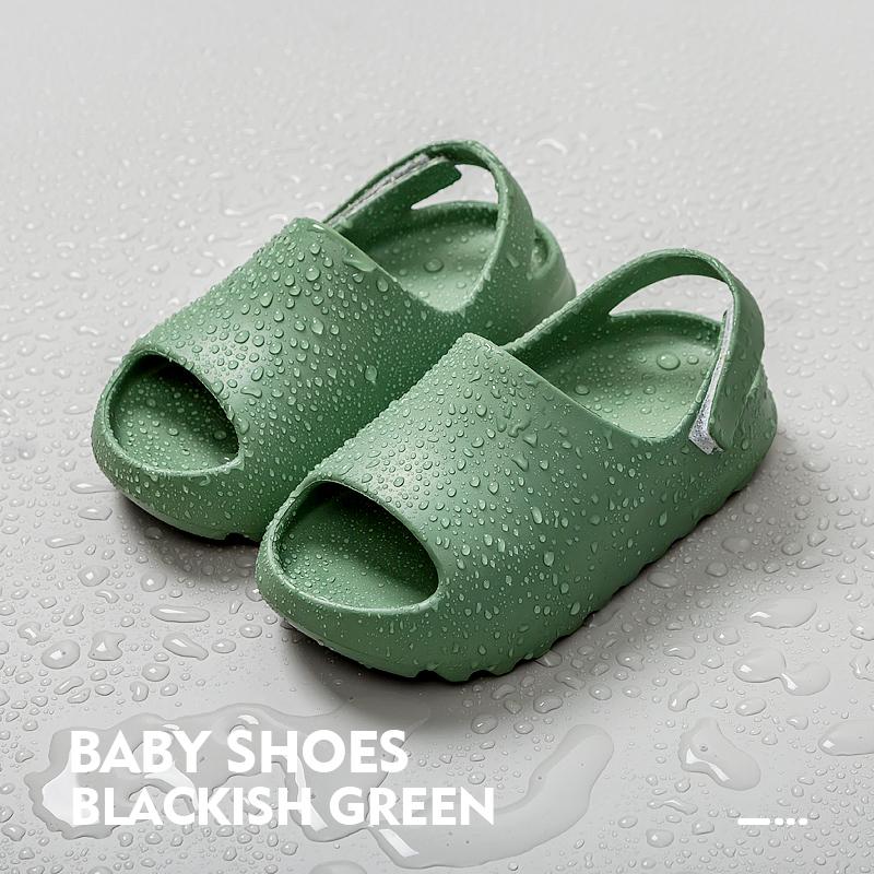 Детские сандалии Yezzy, оптовая продажа, летние детские тапочки для дома и улицы
