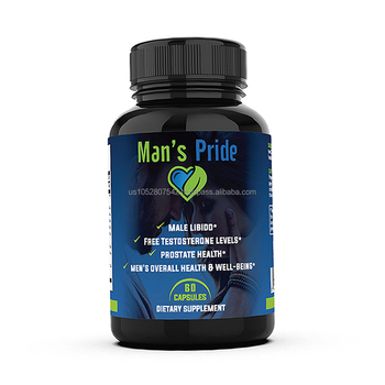 Sexual herbal formula natural sexual Man's Pride booster for providing energy
