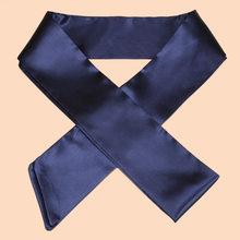 WKOUD EAM 2020 новый модный шифоновый шелковый пояс с бантом, женский пояс с декоративным поясом, повседневный галстук, свадебное платье, пояс для ...(China)