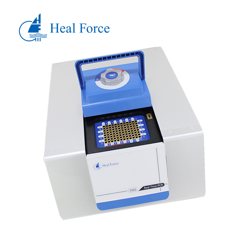 Heal Force Laboratory  Fluorescence PCR Machine REAL TIME PCR hospital gene DNA amplification X960B