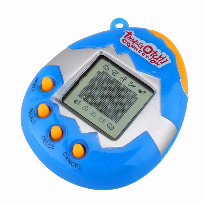 Tamagotchis Electronic keychain Pets Toys 90S Nostalgic 49 Pets in One Virtual Cyber christmas pet toy Kering Gift Toys For Kid