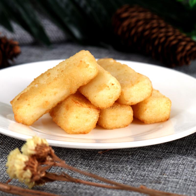 Fried milk crispy fried fresh milk 300g * 24 bags / box fried dessert breakfast ingredients